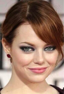 Emma Stone Pink Lips