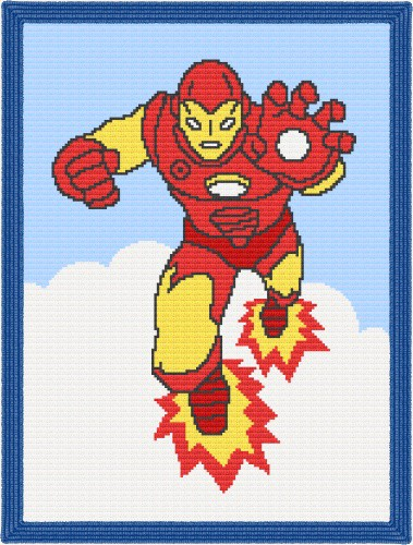 Iron Man Crochet Patterns