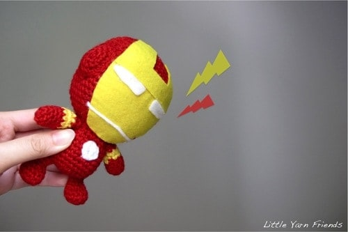 Iron Man Crochet Pattern
