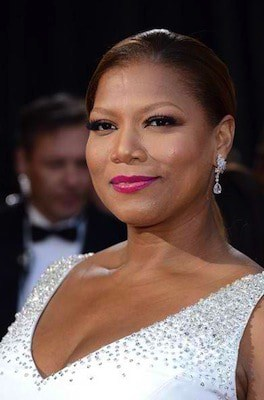 Queen Latifah Pink Lips