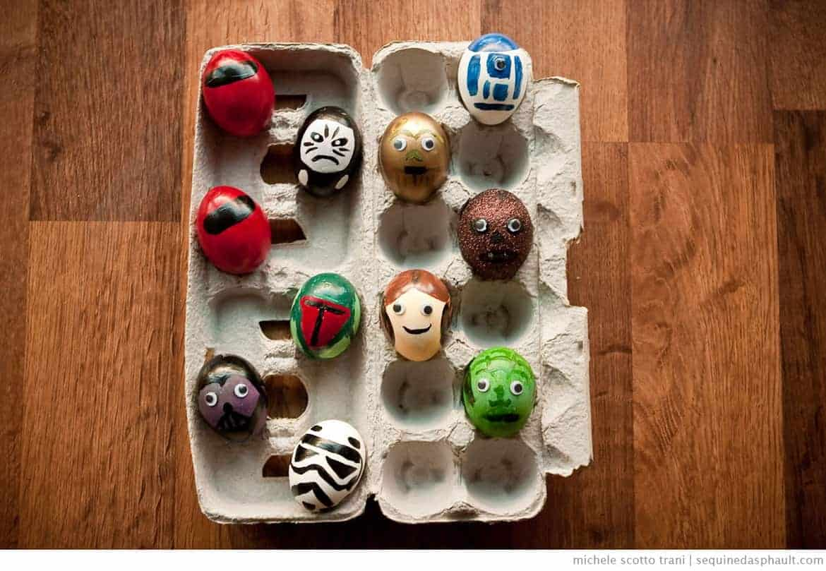Star Wars Inspired Easter Eggs
