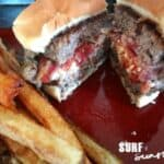 Feta and Sun-Dried Tomato Stuffed Burger Recipe