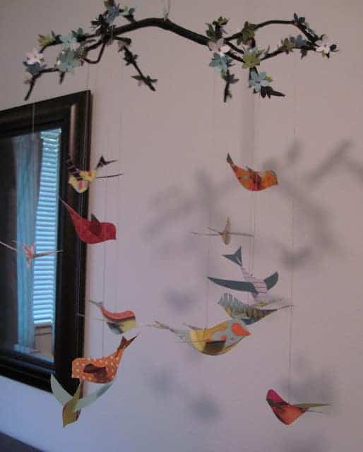 DIY Bird Mobile 1