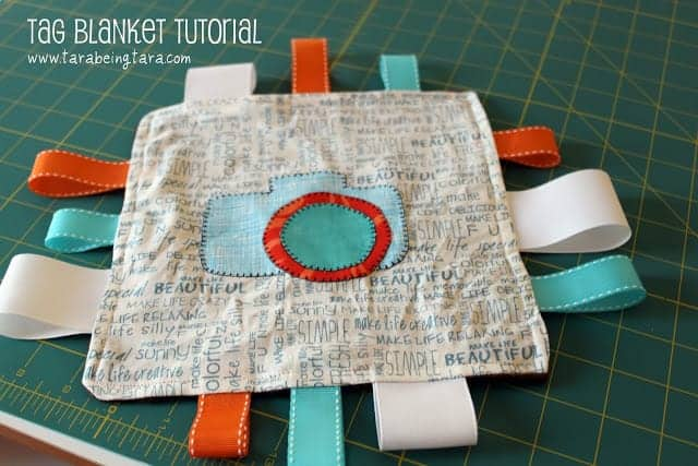 DIY Tag Blanket