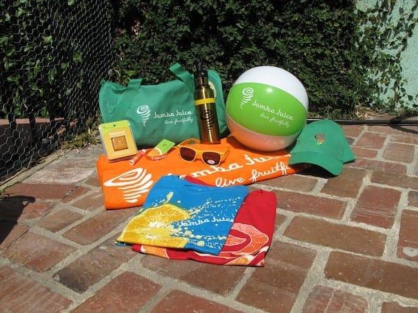 Jamba Juice Prize Pack 1