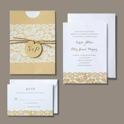 Rustic Chic Invitation