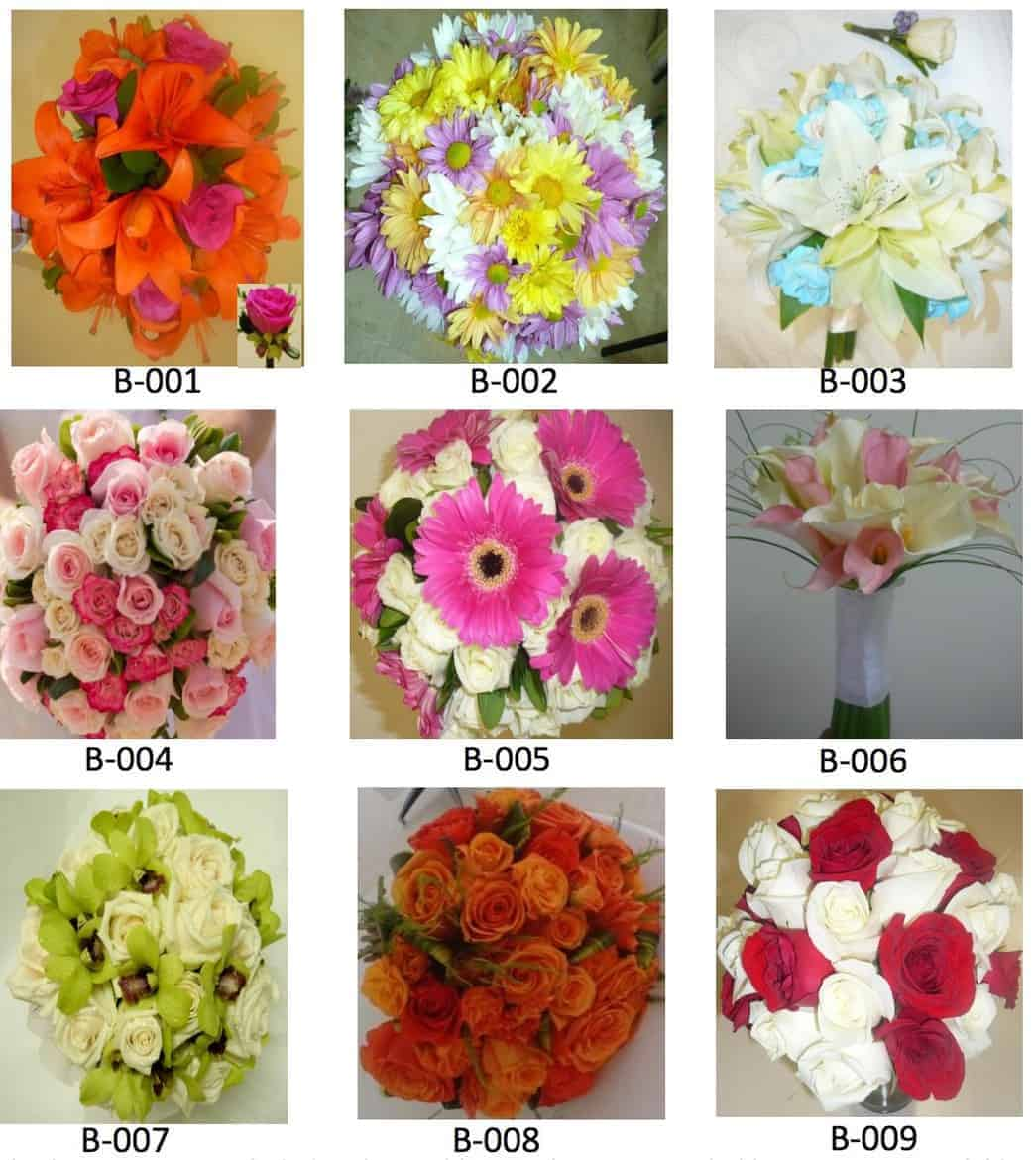 now amber wedding bouquet options