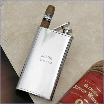 2 in 1 cigar holder flask