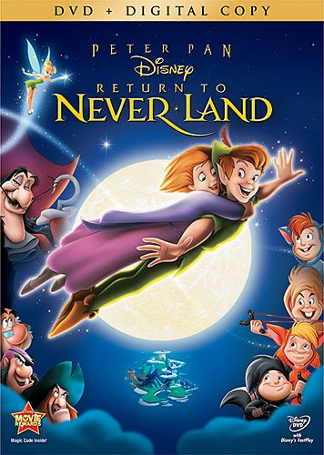 Peter Pan Return to Neverland DVD