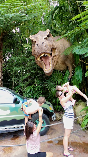 trex eats kids