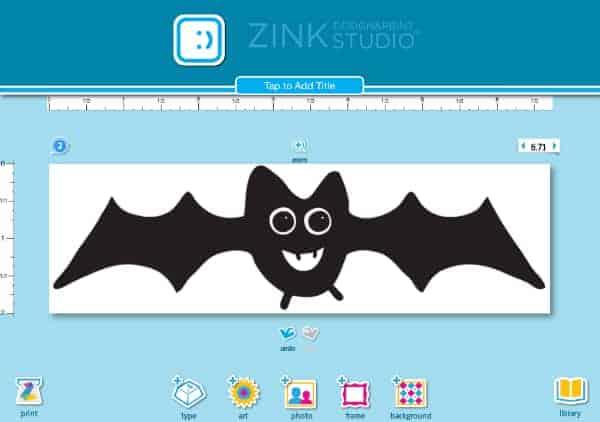 DIY Bat Family Sticker Decorations 2 (2)