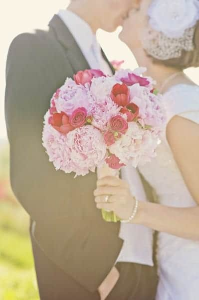 Peony Bridal Boquet 1