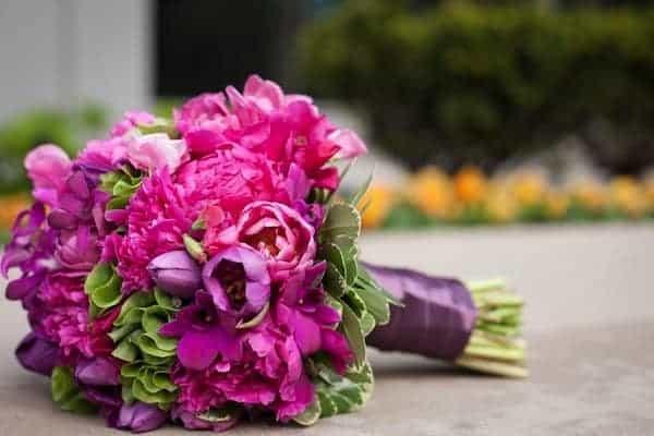Peony Bridal Boquet 5
