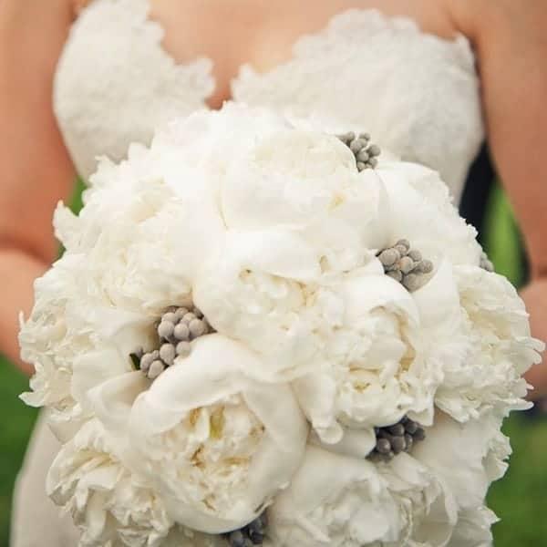 Peony Bridal Boquet 6