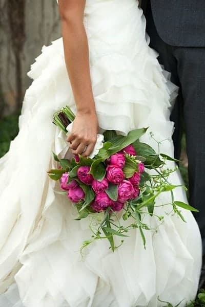 Peony Bridal Boquet 9