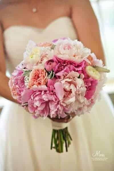 Peony Bridal Boquet