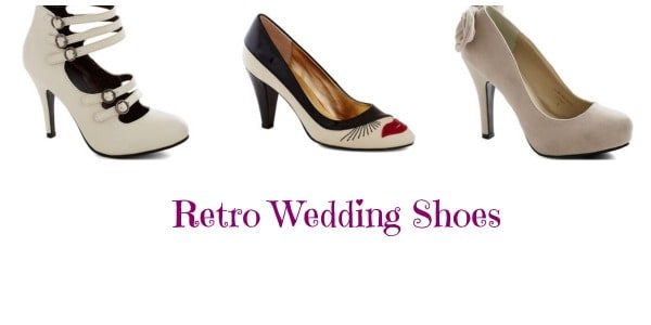 Retro Wedding Shoes
