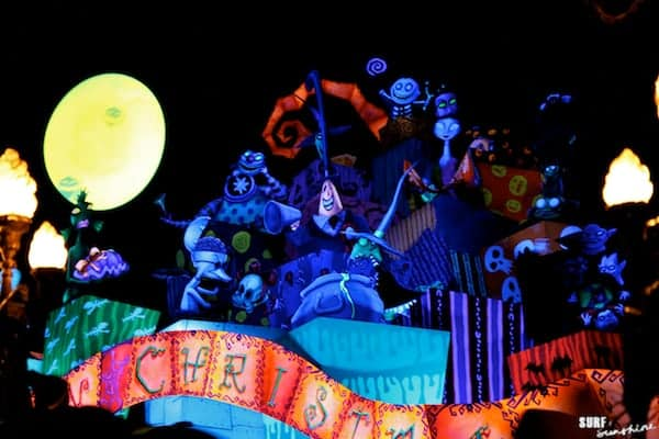 disneyland at halloween jack skellington haunted mansion