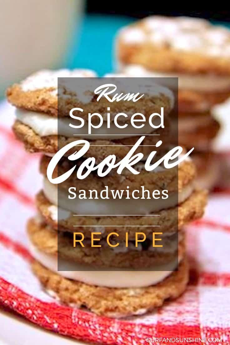 spiced rum cookie sandwich recipe - Make Santa Happy with this Easy Spiced Rum Cookie Recipe