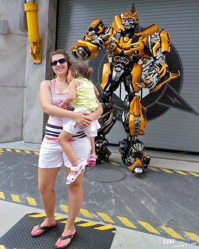 universal orlando transformers bumble bee 1