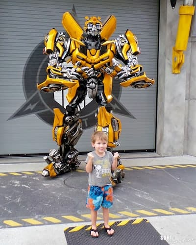 universal orlando transformers bumble bee 2