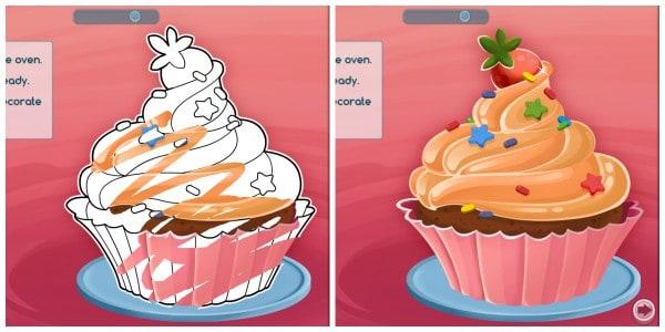 CosmoCamp Cupcake
