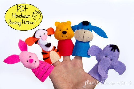 Poor and Friends Finger Puppets
