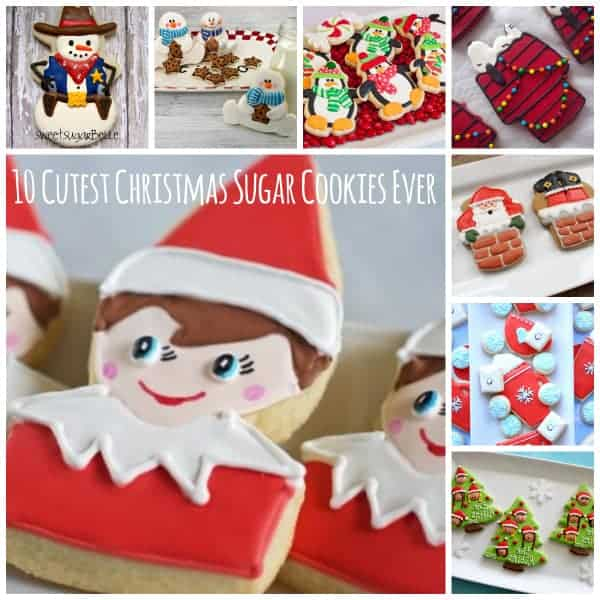 10 cutest christmas sugar cookies