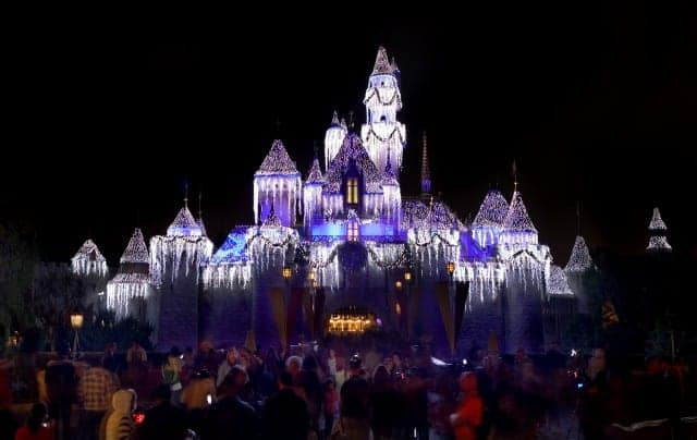 the holidays at disneyland