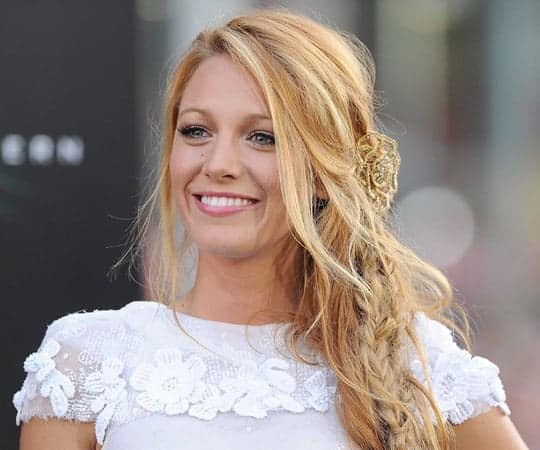 Blake Lively Minimal Makeup Look