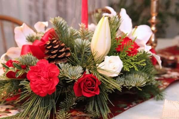 holiday centerpiece 1