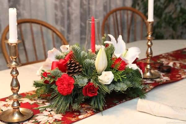 holiday centerpiece 2