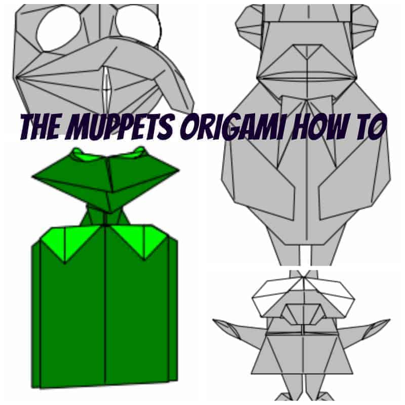 muppets origami
