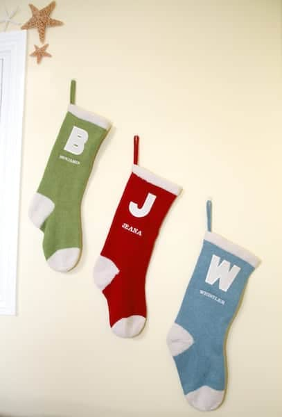vintage christmas stockings