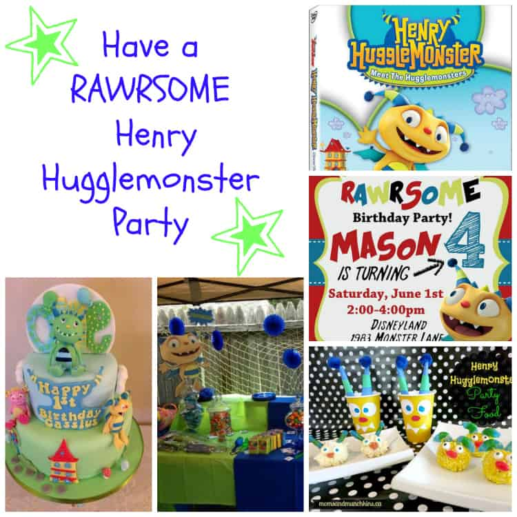 Henry Hugglemonster Party