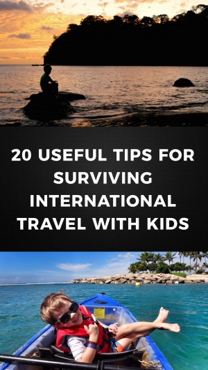 20 Super Useful Tips For Surviving International Travel with Kids