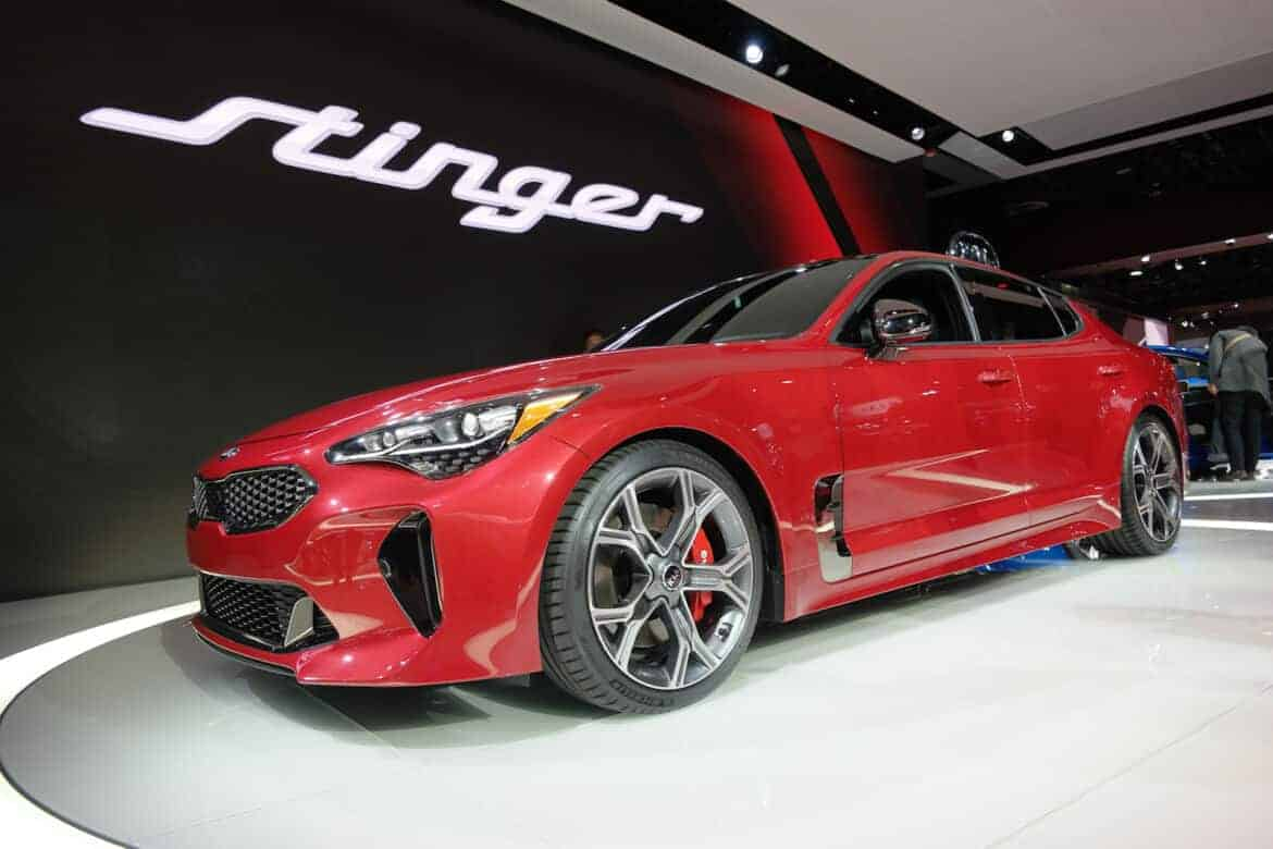 2018 Kia Stinger from NYIAS 6 - Checkout the World's Largest Collection of Automotive Innovation at SEMA 2017