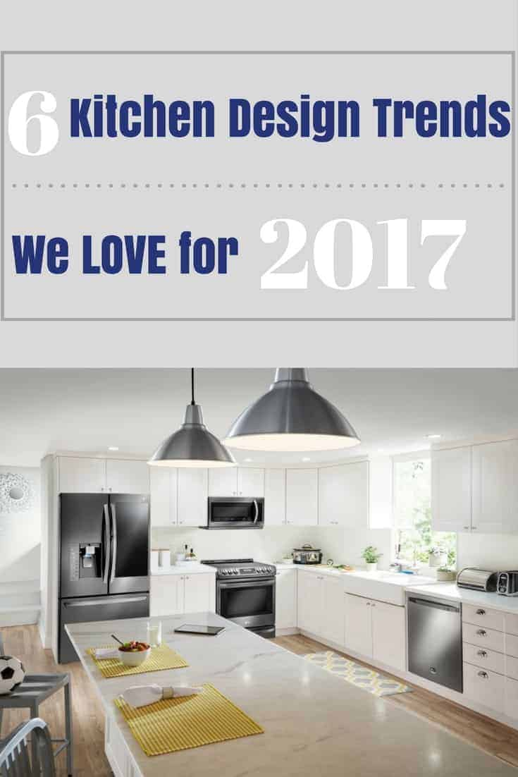 SIX - Six Kitchen Design Trends We Love for 2017