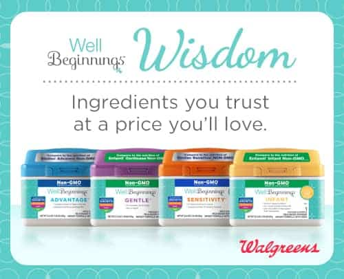 walgreens well beginnings formula