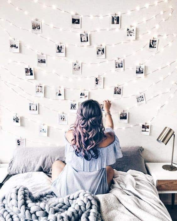 Polaroid Headboard - Polaroid Picture Ideas: Creative Inspiration and Tips