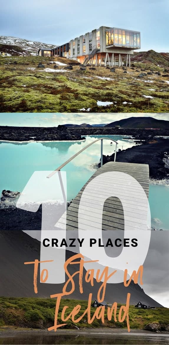 Hottest place to travel right now? Definitely Iceland. Here are 10 of the Craziest Places You Can Actually Stay In!