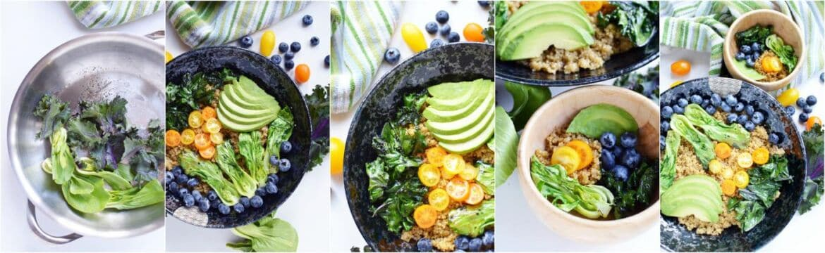 mommy and me quinoa grain bowl recipe