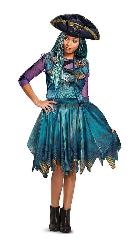 Descendants Halloween Costume Ideas Uma Classic Dress Costume with Hat
