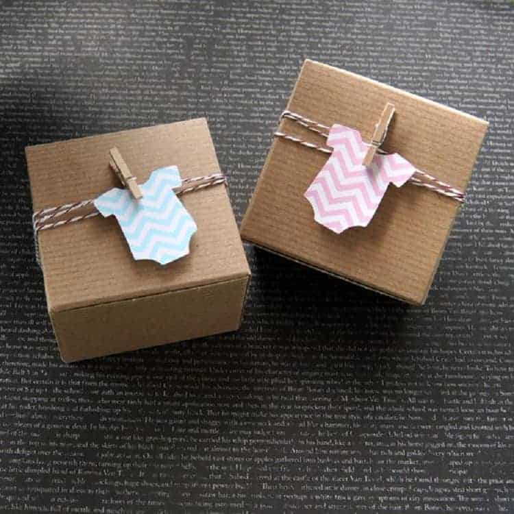 Unique Baby Shower Gifts and Clever Gift Wrapping Ideas