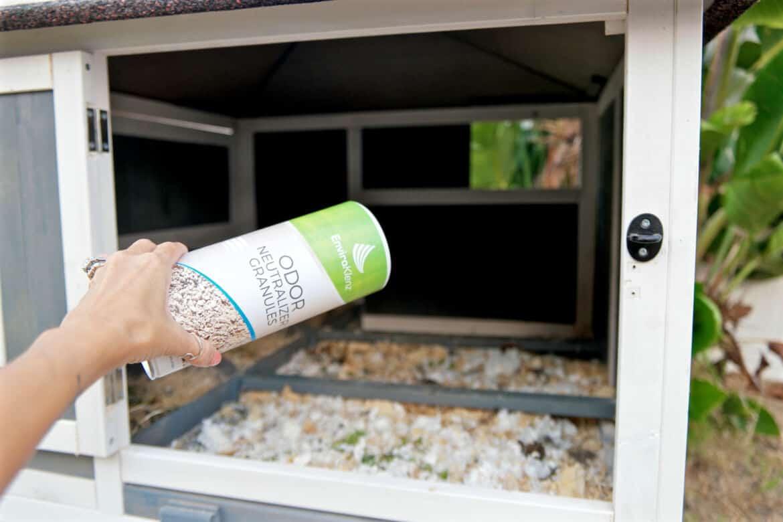 enviroklenz odor neutralizer for chickens