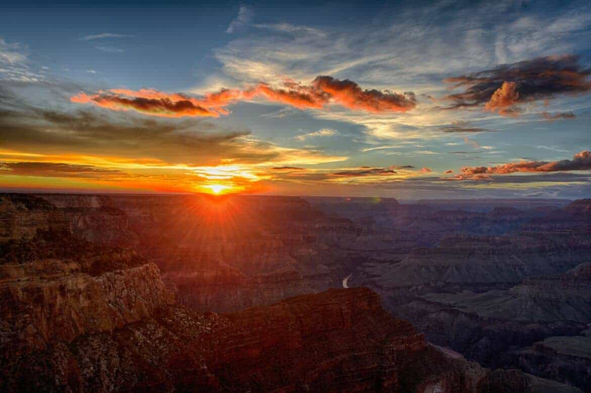 most beautiful sunsets in us