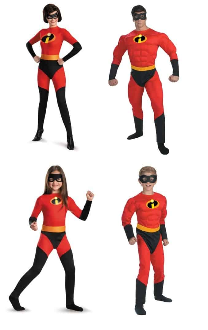 adult mrs incredible costume - Check Out These 22 Amazing Family Halloween Costume Ideas