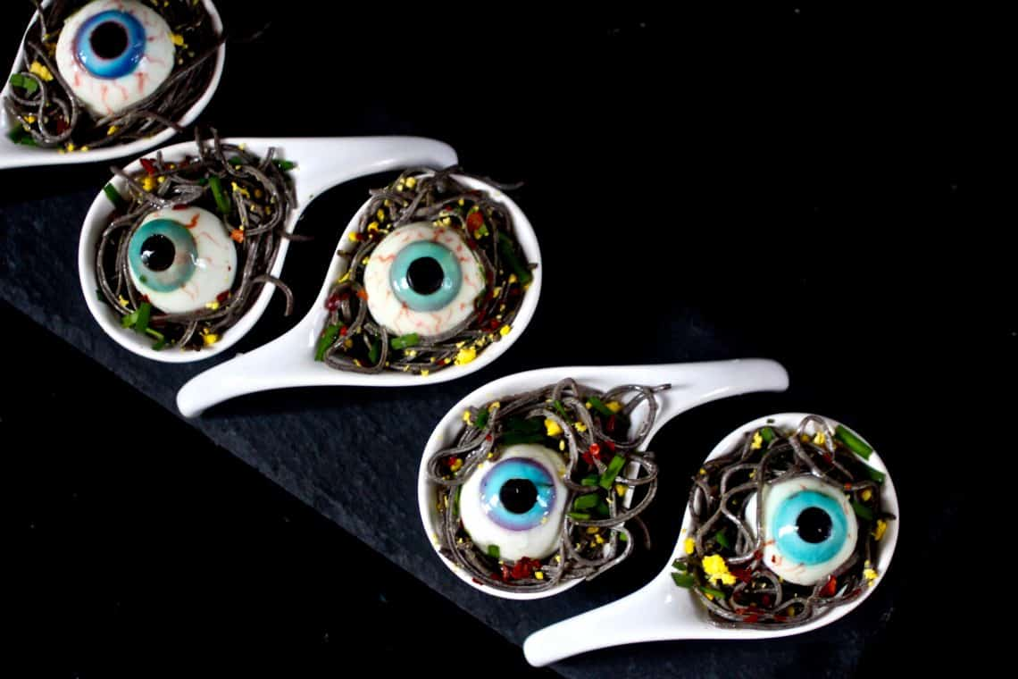 eyeballs  - 20 of the Best Recipes for Your Halloween Party