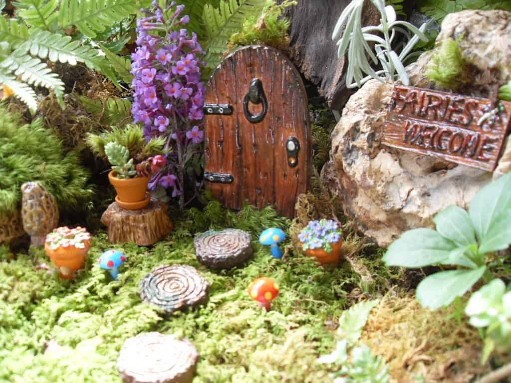 fairy garden - DIY Fairy House Inspiration Plus Everything You Need To Make Your Own
