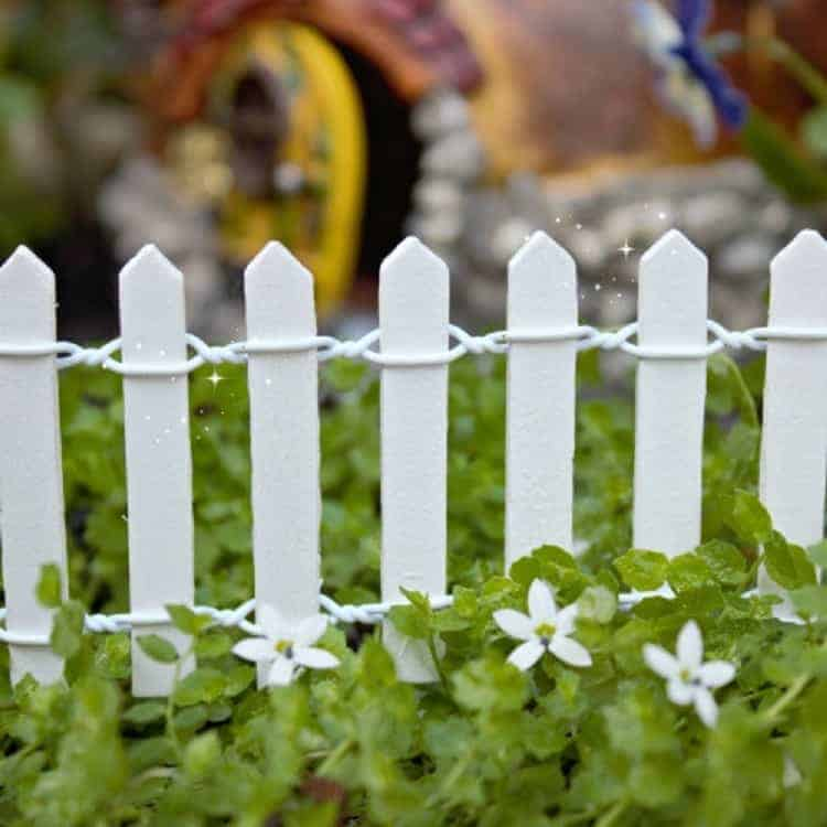 fences  - DIY Fairy House Inspiration Plus Everything You Need To Make Your Own